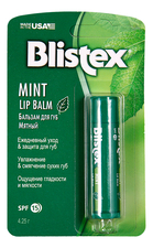 Blistex Бальзам для губ Medicated Mint Balm 4,25мл