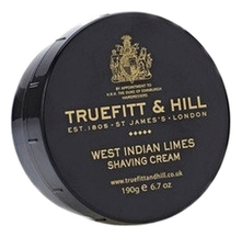 Truefitt & Hill Крем для бритья West Indian Limes Shaving Cream 190г