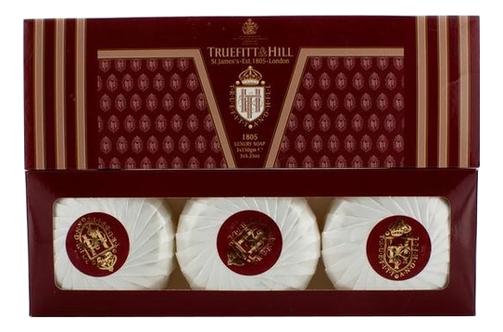 Купить Мыло для рук и тела 1805 Soap 3*150г, Truefitt & Hill