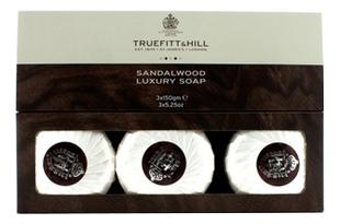Купить Мыло для бритья Sandalwood Soap 3*150г, Truefitt & Hill