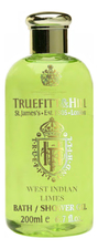 Truefitt & Hill Гель для душа West Indian Limes Bath & Shower Gel 200мл