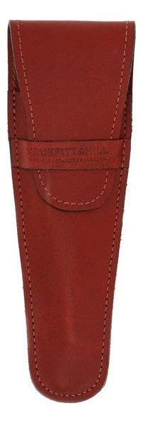 Кожаный чехол для бритвы Leather Razor Pouch (коричневый)