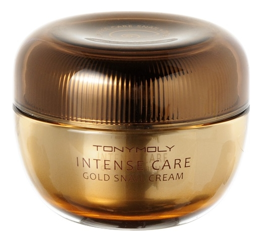 Улиточный крем для лица Intense Care Gold Snail Cream 45мл питательный улиточный крем snail repair perfect cream