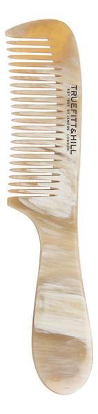 Купить Мужская расческа для волос Horn Comb with Handle C22 (рог, 19мм), Truefitt & Hill
