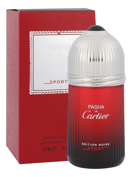 Pasha de Cartier Edition Noire Sport: туалетная вода 50мл
