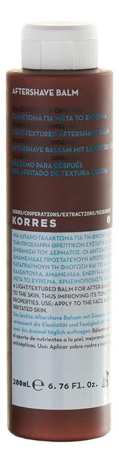 Бальзам после бритья с экстрактом бархатцев и женьшеня Marigold & Ginsens Aftershave 200мл