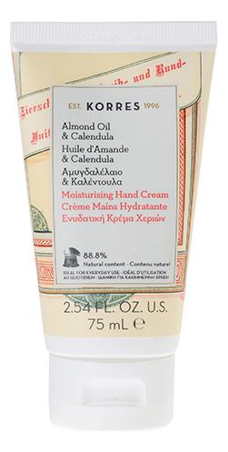 Купить Крем для рук с маслом миндаля и календулы Almond Oil & Calendula Moisturising Hand Cream 75мл, Крем для рук с маслом миндаля и календулы Almond Oil & Calendula Moisturising Hand Cream 75мл, Korres