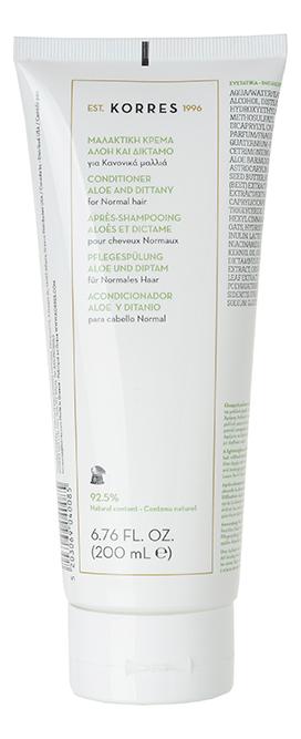 Кондиционер для волос с экстрактом алоэ и дикого бадьяна Conditioner Aloe & Dittany 200мл korres conditioner aloe