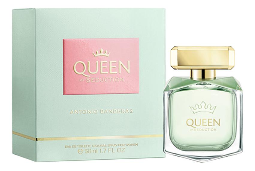 Antonio Banderas Queen Of Seduction: туалетная вода 50мл туалетная вода antonio banderas queen of seduction women edt 50 мл женская