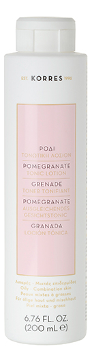 Тонизирующий лосьон для лица с экстрактом граната Pomegranate Tonic Lotion 200мл фото