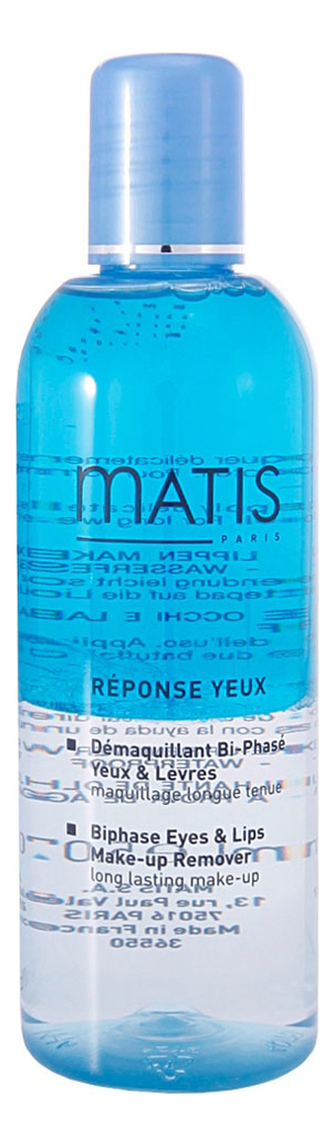 Купить Двухфазный лосьон для снятия макияжа Biphase Eyes & Lips Make-Up Remover 150мл, Двухфазный лосьон для снятия макияжа Biphase Eyes & Lips Make-Up Remover 150мл, Matis
