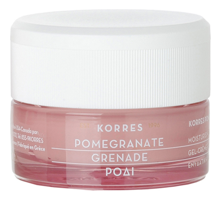 Купить Увлажняющий крем-гель для лица с экстрактом граната Pomegranate Moisturising Cream-Gel Oily-Combination Skin 40мл, Korres