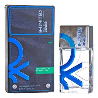цена Benetton B-United Jeans men: туалетная вода 30мл онлайн в 2017 году