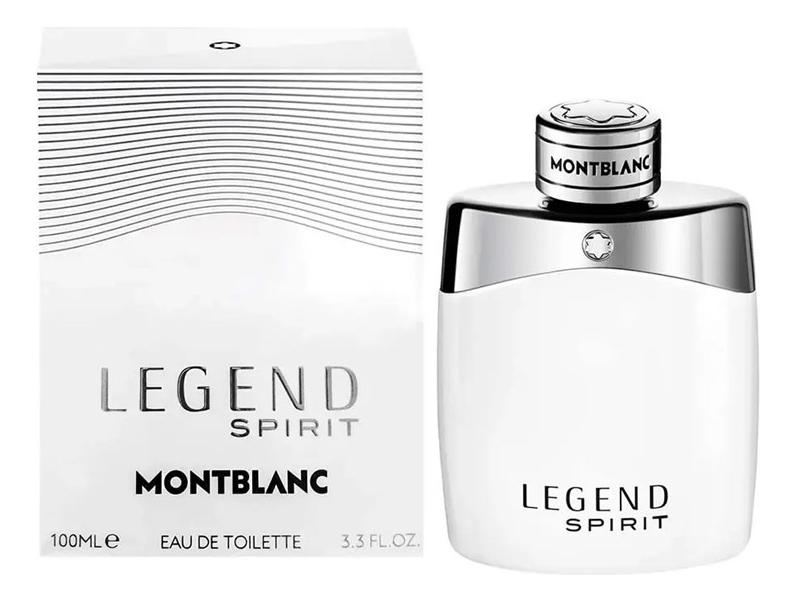 Mont Blanc Legend Spirit: туалетная вода 100мл mont blanc legend spirit туалетная вода 4 5мл