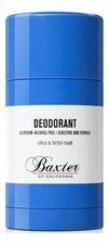 Baxter of California Дезодорант Deodorant Citrus & Herbal-Musk 75г