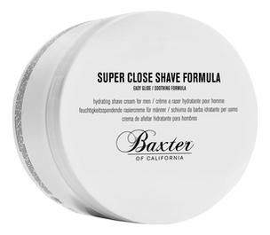 Фото - Крем для бритья Super Close Shave Formula 240мл антивозрастной крем для лица baxter of california super shape 50 мл