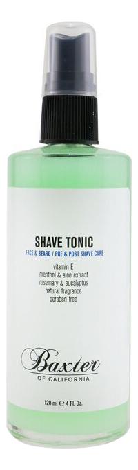 Фото - Тоник для лица Shave Tonic Hot Towel Solution: Тоник 120мл антивозрастной крем для лица baxter of california super shape 50 мл