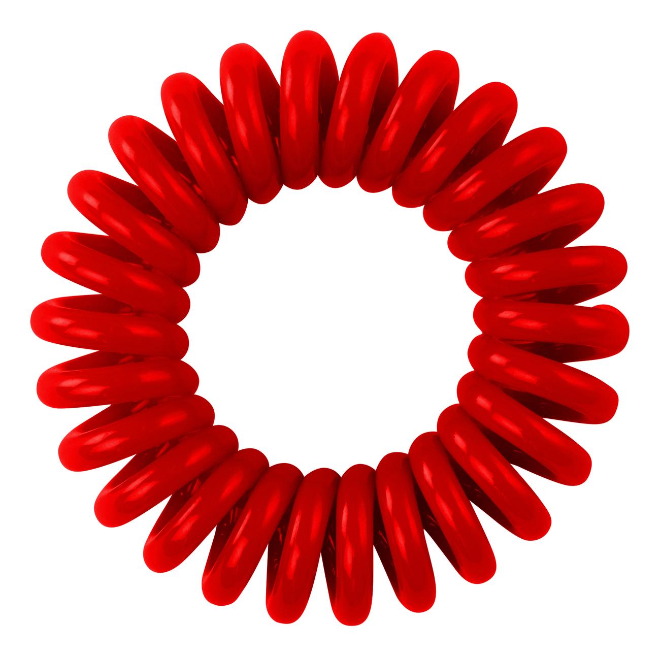 Резинка для волос Hair Bobbles (красная) 3шт резинка для волос black chocolate 3шт черная