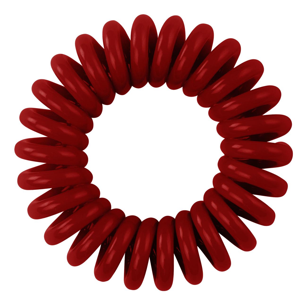 Резинка для волос Hair Bobbles (темно-красная) 3шт резинка для волос black chocolate 3шт черная