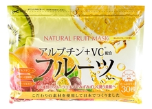 Japan Gals Маска для лица с экстрактом фруктов Natural Fruit Mask 30шт