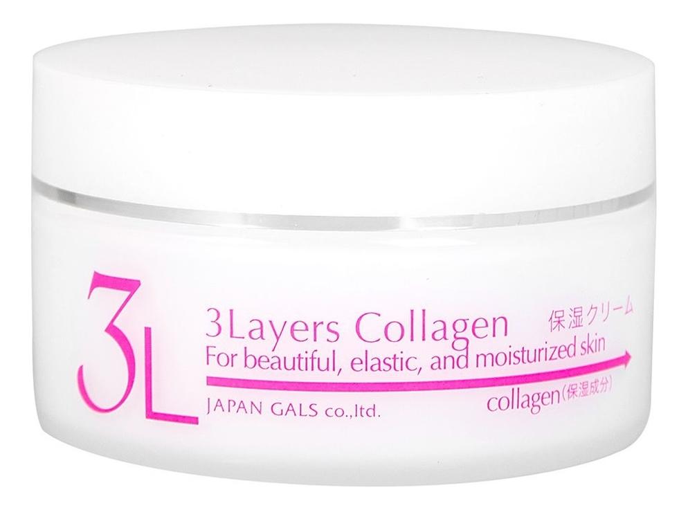 Крем для лица увлажняющий 3 Layers Collagen 60г