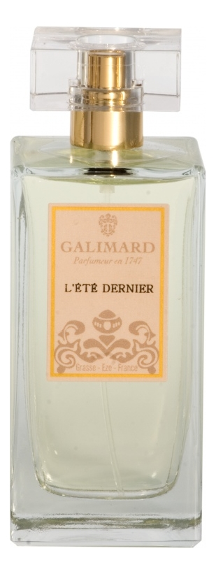 Купить L'Ete Dernier: духи 100мл, Galimard