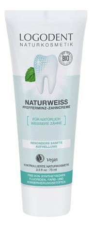 Купить Зубная паста Натуральное отбеливание Natural White Toothpaste 75мл, Logona