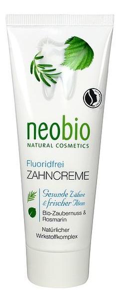 Купить Зубная паста без фтора Fluoride-Free Toothpaste 75мл, NeoBio