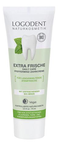 Купить Зубная паста с экстрактом перечной мяты Bio Peppermint Toothpaste Logodent 75мл, Logona