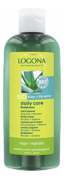 Купить Лосьон для тела с экстрактом алоэ и вербены Body Lotion Organic Bio Aloe & Verbena 200мл, Лосьон для тела с экстрактом алоэ и вербены Body Lotion Organic Bio Aloe & Verbena 200мл, Logona