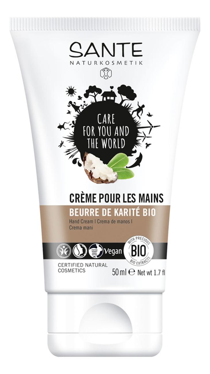 Купить Крем для рук Bio-Shea Butter Hand Cream 50мл, Sante