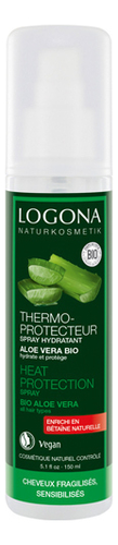 Купить Увлажняющий спрей-термозащита для волос с экстрактом алоэ вера Heat Protection Spray Bio Aloe Vera 150мл, Logona
