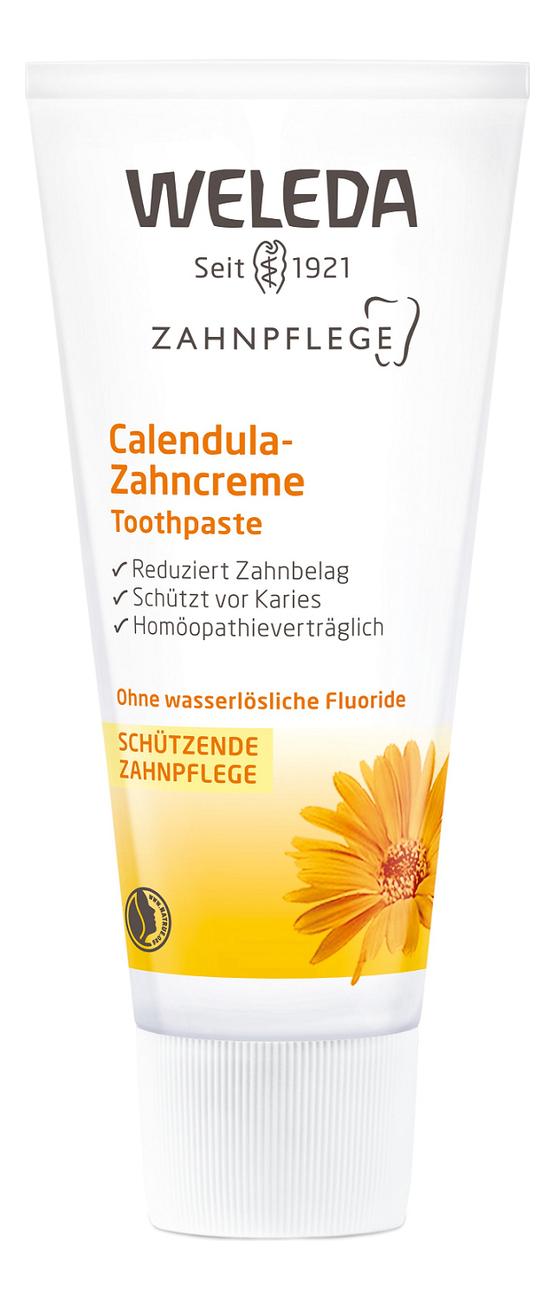Купить Зубная паста с экстрактом календулы Calendula Toothpaste 75мл, Weleda