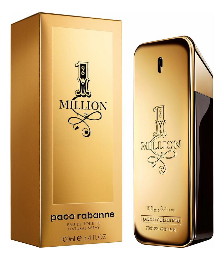 цена Paco Rabanne 1 Million Man: туалетная вода 100мл онлайн в 2017 году
