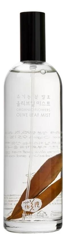 Спрей для лица Organic Flowers Olive Leaf Mist 80мл