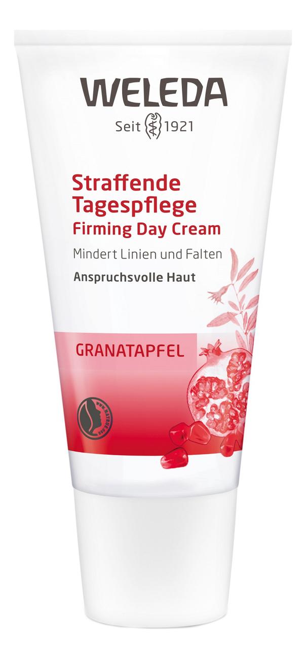 Купить Дневной крем-лифтинг с экстрактом граната Pomegranate Firming Day Cream 30мл, Weleda