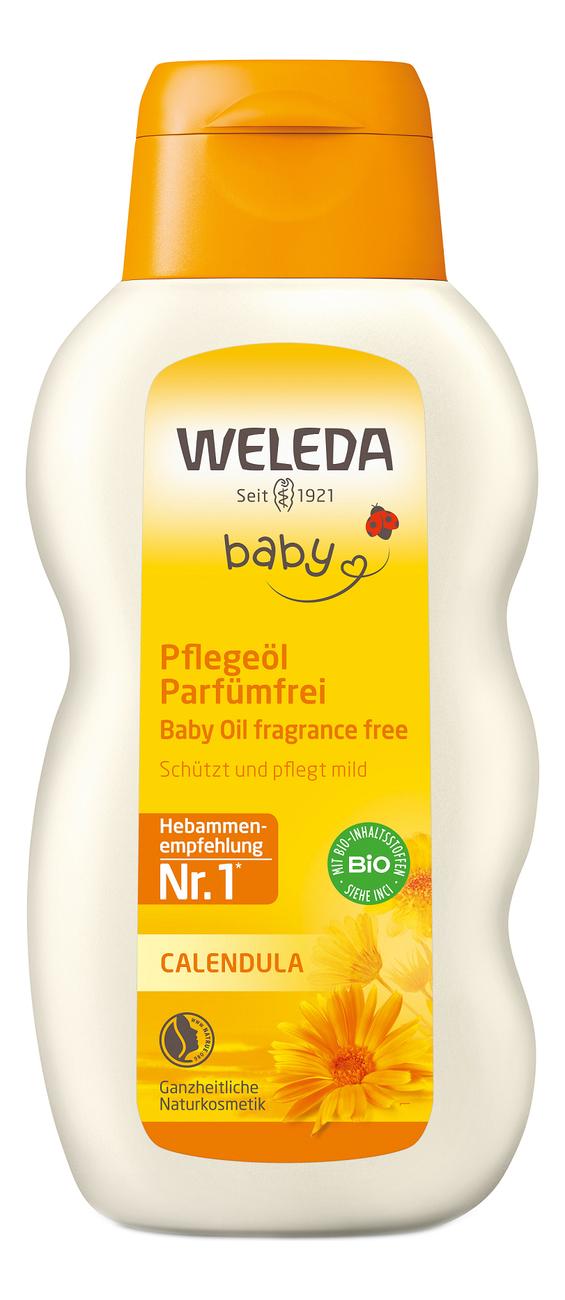 Масло с экстрактом календулы для младенцев Baby Calendula Oil 200мл масло для массажа животика младенцев weleda baby tummy oil 50 мл