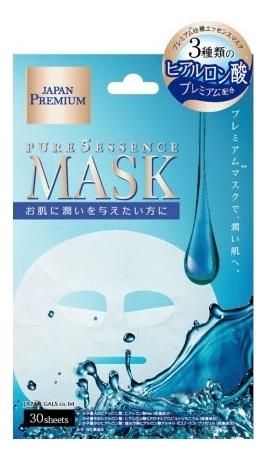 Маска для лица c тремя видами гиалуроновой кислоты Premium 30шт кислоты для лица летом