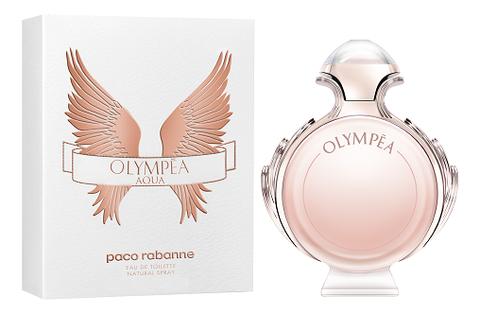 Paco Rabanne Olympea Aqua: туалетная вода 50мл paco rabanne olympea aqua дымка для волос 30мл