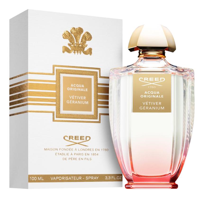 Creed Vetiver Geranium: парфюмерная вода 100мл creed original santal парфюмерная вода 100мл
