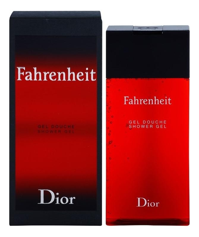 Fahrenheit: гель для душа 200мл, Christian Dior  - Купить