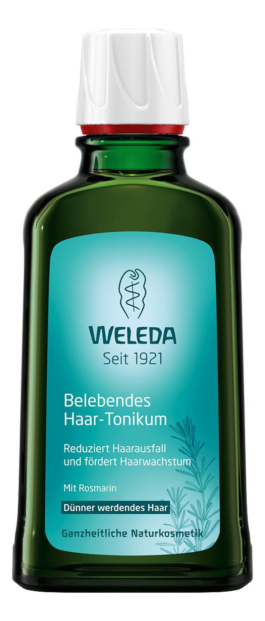 Купить Укрепляющее средство для роста волос с розмарином Rosemary Revitalising Hair Tonic 100мл, Weleda
