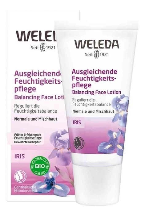 Купить Крем-уход освежающий ночной Iris Hydrating Night Cream 30мл, Weleda
