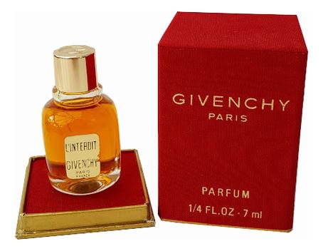 Givenchy L'Interdit 1957: духи 7мл givenchy amarige духи 7мл