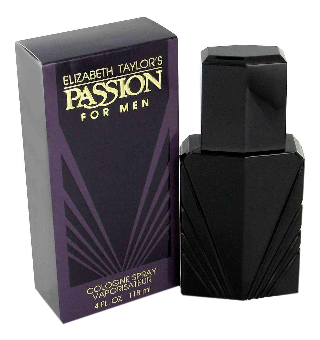 Elizabeth Taylor Passion Men: одеколон 118мл coty aspen for men одеколон 118мл