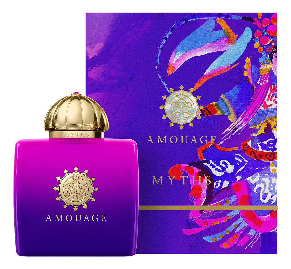 Amouage Myths for woman: парфюмерная вода 100мл jackets modis m182s00041 down coat jacket for female for woman tmallfs