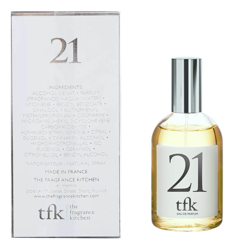 Купить 21: парфюмерная вода 100мл, The Fragrance Kitchen