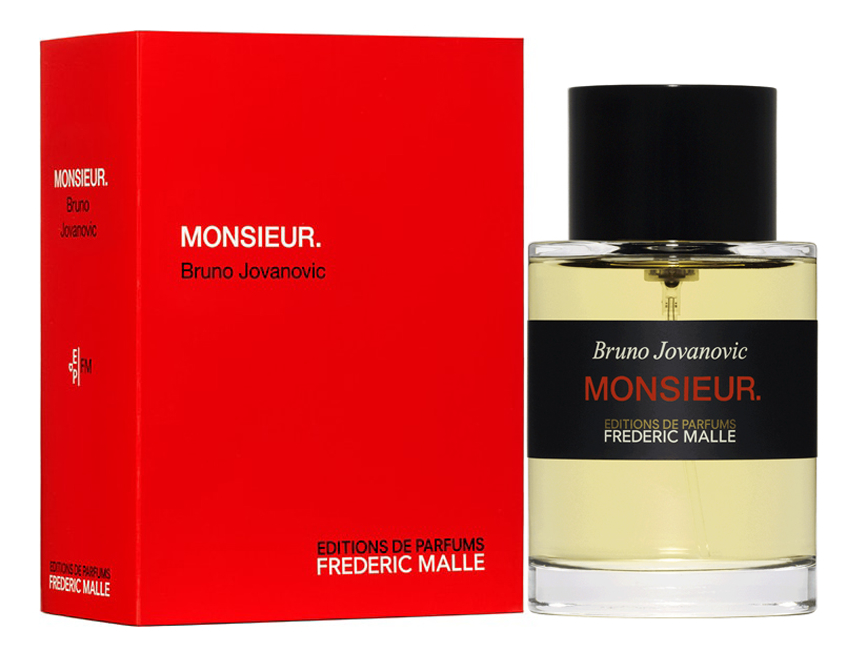 Frederic Malle Monsieur: парфюмерная вода 100мл frederic malle the night парфюмерная вода 100мл