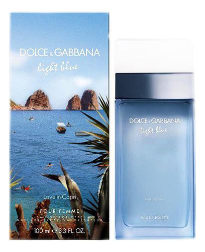 Dolce Gabbana (D&G) Light Blue Love in Capri: туалетная вода 100мл