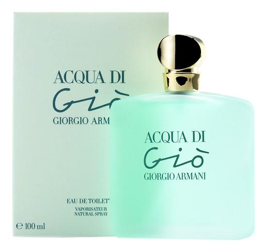 Acqua di Gio pour femme: туалетная вода 100мл acqua di gio pour homme туалетная вода 30мл